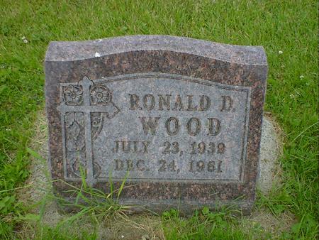 WOOD, RONALD D. - Cerro Gordo County, Iowa | RONALD D. WOOD