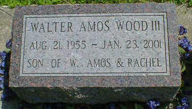 WOOD, WALTER AMOS III - Cerro Gordo County, Iowa   WALTER AMOS III WOOD