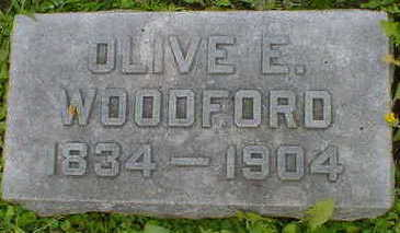 WOODFORD, OLIVE E. - Cerro Gordo County, Iowa | OLIVE E. WOODFORD