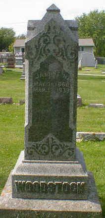 WOODSTOCK, JAMES H. - Cerro Gordo County, Iowa | JAMES H. WOODSTOCK