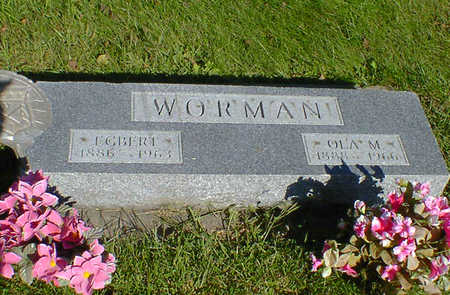 WORMAN, OLA M. - Cerro Gordo County, Iowa | OLA M. WORMAN