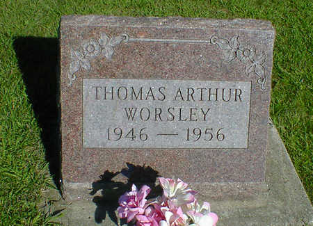 WORSLEY, THOMAS ARTHUR - Cerro Gordo County, Iowa   THOMAS ARTHUR WORSLEY