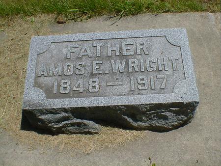 WRIGHT, AMOS E. - Cerro Gordo County, Iowa | AMOS E. WRIGHT