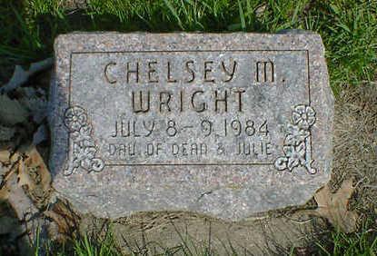 WRIGHT, CHELSEY M. - Cerro Gordo County, Iowa   CHELSEY M. WRIGHT