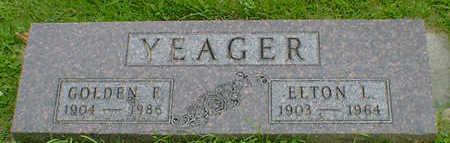 YEAGER, GOLDEN F. - Cerro Gordo County, Iowa | GOLDEN F. YEAGER