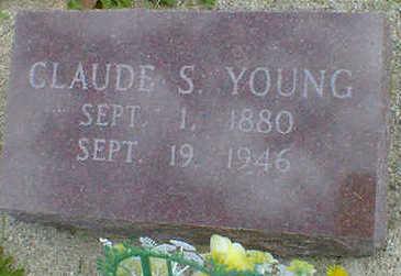 YOUNG, CLAUDE S. - Cerro Gordo County, Iowa | CLAUDE S. YOUNG