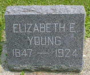 YOUNG, ELIZABETH E. - Cerro Gordo County, Iowa | ELIZABETH E. YOUNG