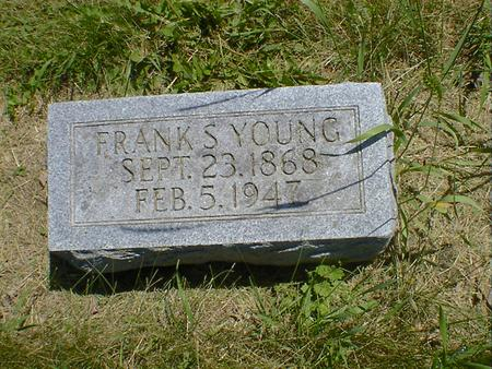 YOUNG, FRANK S. - Cerro Gordo County, Iowa | FRANK S. YOUNG