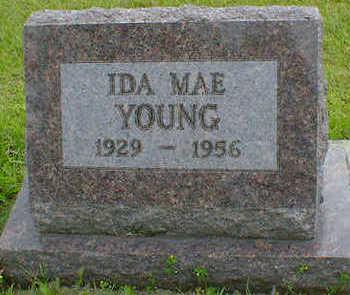YOUNG, IDA MAE - Cerro Gordo County, Iowa   IDA MAE YOUNG