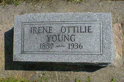 YOUNG, IRENE OTTILIE - Cerro Gordo County, Iowa | IRENE OTTILIE YOUNG