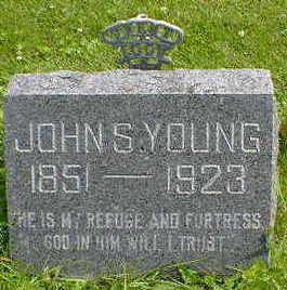 YOUNG, JOHN S. - Cerro Gordo County, Iowa | JOHN S. YOUNG