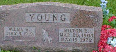 YOUNG, MILTON R. - Cerro Gordo County, Iowa | MILTON R. YOUNG