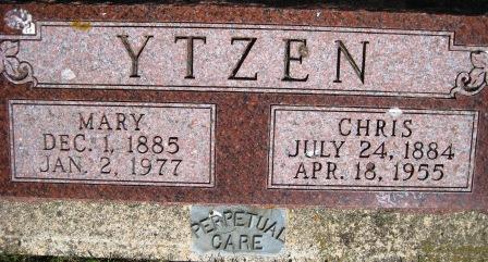 YTZEN, MARY (BERTLESEN) - Cerro Gordo County, Iowa | MARY (BERTLESEN) YTZEN
