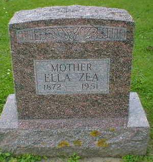 ZEA, ELLA - Cerro Gordo County, Iowa   ELLA ZEA