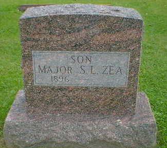 ZEA, MAJOR S.L. - Cerro Gordo County, Iowa | MAJOR S.L. ZEA
