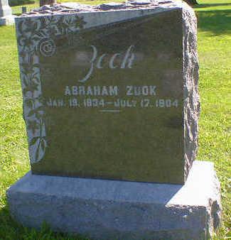 ZOOK, ABRAHAM - Cerro Gordo County, Iowa   ABRAHAM ZOOK