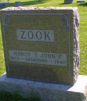 ZOOK, NANCY - Cerro Gordo County, Iowa | NANCY ZOOK