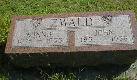 ZWALD, JOHN - Cerro Gordo County, Iowa | JOHN ZWALD