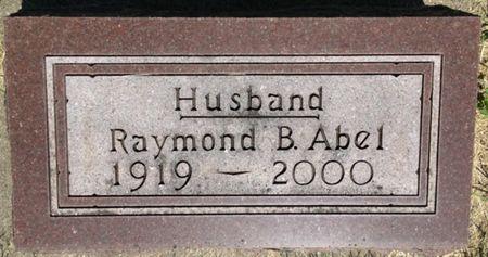ABEL, RAYMOND B. - Cherokee County, Iowa | RAYMOND B. ABEL