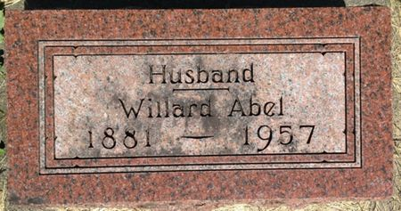ABEL, WILLARD - Cherokee County, Iowa | WILLARD ABEL