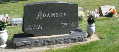 ADAMSON, LOLA RE - Cherokee County, Iowa | LOLA RE ADAMSON