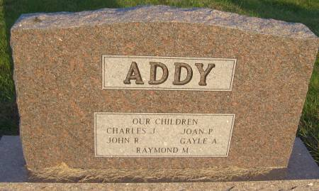 KRAMER ADDY, FERN M. - Cherokee County, Iowa   FERN M. KRAMER ADDY