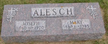 ALESCH, MARY - Cherokee County, Iowa   MARY ALESCH