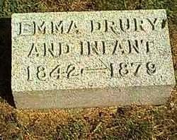 DRURY ALLISON, EMMA - Cherokee County, Iowa | EMMA DRURY ALLISON
