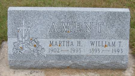 AMENT, MARTHA H. - Cherokee County, Iowa   MARTHA H. AMENT