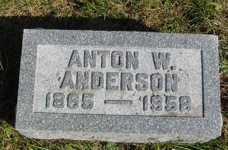 ANDERSON, ANTON W. - Cherokee County, Iowa | ANTON W. ANDERSON