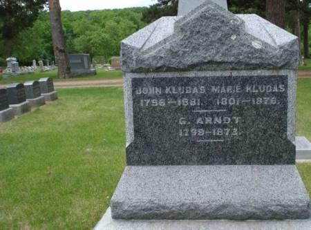 KLUDAS, JOHN - Cherokee County, Iowa | JOHN KLUDAS