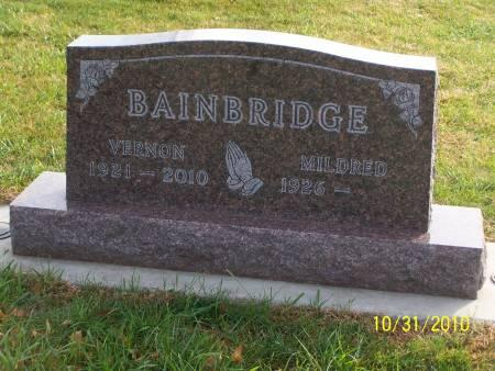 BAINBRIDGE, VERNON - Cherokee County, Iowa | VERNON BAINBRIDGE