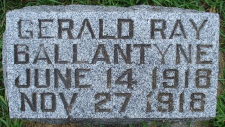 BALLANTYNE, GERALD RAY - Cherokee County, Iowa   GERALD RAY BALLANTYNE