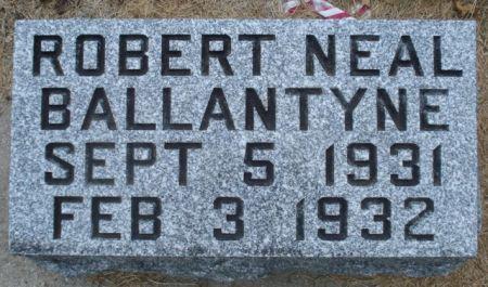 BALLANTYNE, ROBERT NEAL - Cherokee County, Iowa   ROBERT NEAL BALLANTYNE