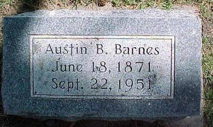 BARNES, AUSTIN B. - Cherokee County, Iowa   AUSTIN B. BARNES