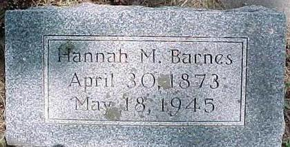 BARNES, HANNAH - Cherokee County, Iowa | HANNAH BARNES