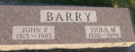 BARRY, VIOLA M. - Cherokee County, Iowa   VIOLA M. BARRY