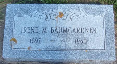 BAUMGARDNER, IRENE M. - Cherokee County, Iowa | IRENE M. BAUMGARDNER