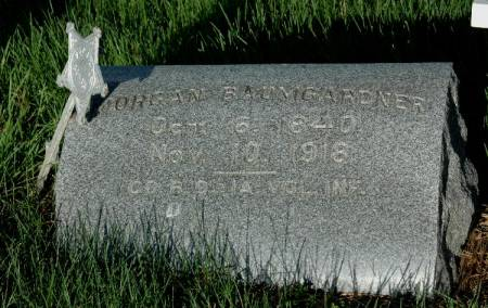 BAUMGARDNER, MORGAN - Cherokee County, Iowa   MORGAN BAUMGARDNER