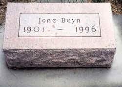MOSIER BEYN, IONE - Cherokee County, Iowa | IONE MOSIER BEYN
