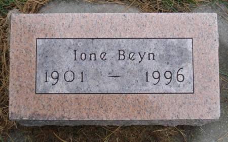BEYN, IONE - Cherokee County, Iowa | IONE BEYN