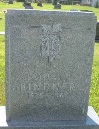 BINDNER, DONALD - Cherokee County, Iowa | DONALD BINDNER