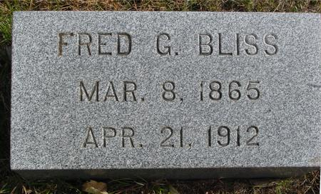 BLISS, FRED G. - Cherokee County, Iowa | FRED G. BLISS