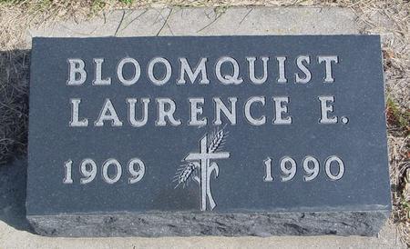 BLOOMQUIST, LAURENCE E. - Cherokee County, Iowa   LAURENCE E. BLOOMQUIST