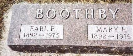 BOOTHBY, EARL & MARY - Cherokee County, Iowa   EARL & MARY BOOTHBY
