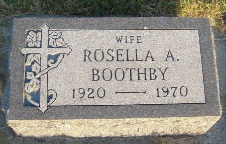 BOOTHBY, ROSELLA A. - Cherokee County, Iowa   ROSELLA A. BOOTHBY