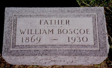BOSCOE, WILLIAM - Cherokee County, Iowa | WILLIAM BOSCOE