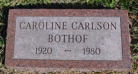 CARLSON BOTHOF, CAROLINE - Cherokee County, Iowa | CAROLINE CARLSON BOTHOF