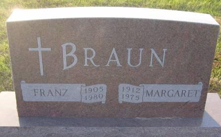 BRAUN, MARGARET - Cherokee County, Iowa | MARGARET BRAUN