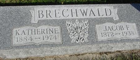 BRECHWALD, JACOB F. - Cherokee County, Iowa | JACOB F. BRECHWALD